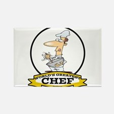WORLDS GREATEST CHEF Rectangle Magnet (100 pack)