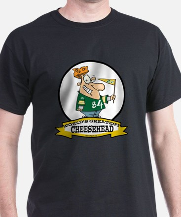 WORLDS GREATEST CHEESEHEAD T-Shirt