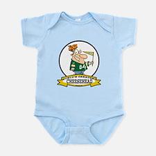 WORLDS GREATEST CHEESEHEAD Infant Bodysuit