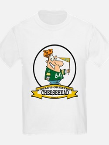WORLDS GREATEST CHEESEHEAD T-Shirt