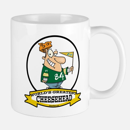 WORLDS GREATEST CHEESEHEAD Mug