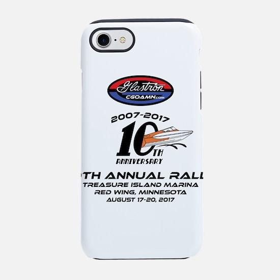 CGOAMN 10TH Anniversary iPhone 7 Tough Case