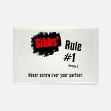 NCIS Gibbs' Rule #1 Rectangle Magnet (10 pack)
