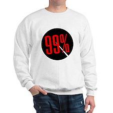 99 Percent Pie Chart: Sweatshirt