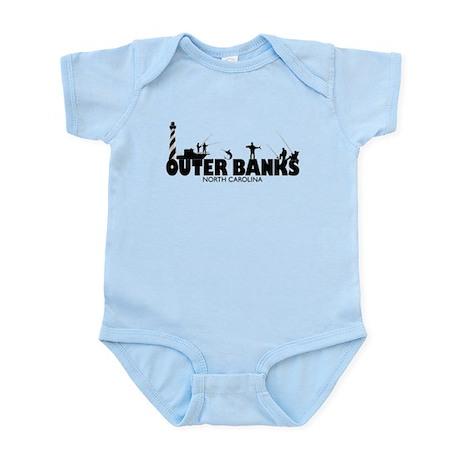 OUTER BANKS Fishermen Infant Bodysuit