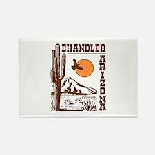 Chandler Arizona Rectangle Magnet