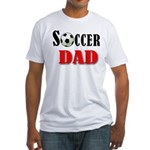 SOCCER DAD Fitted T-Shirt
