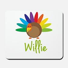 Willie the Turkey Mousepad