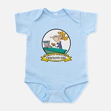WORLDS GREATEST CHECKOUT GIRL Infant Bodysuit
