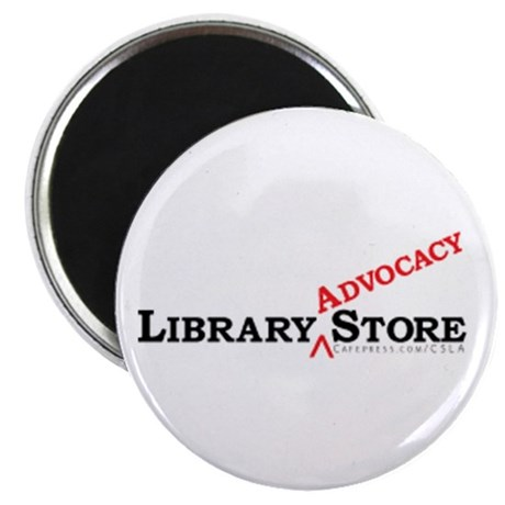 """Library ADVOCACY Store 2.25"""" Magnet (10 pack)"""