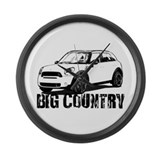 Mini coopers countryman Giant Clocks