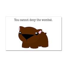 Wombat Car Magnet 20 x 12