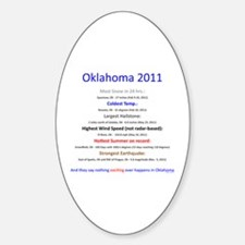 Nothing Happens in Oklahoma Decal