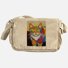 Cat-of-Many-Colors Messenger Bag