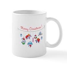 Merry Christmas bunnies Mug