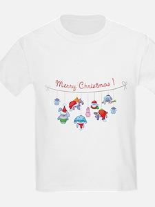 Merry Christmas bunnies T-Shirt