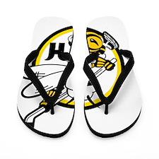 Hornets Flip Flops