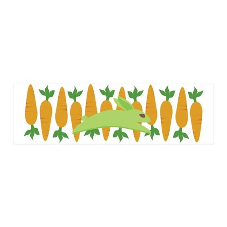 Gwennie With Carrots 42x14 Wall Peel