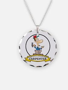 WORLDS GREATEST CARPENTER Necklace