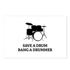 Save a Drum Postcards (Package of 8)