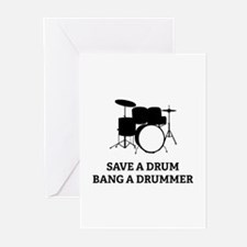 Save a Drum Greeting Cards (Pk of 10)