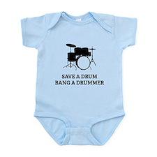 Save a Drum Onesie