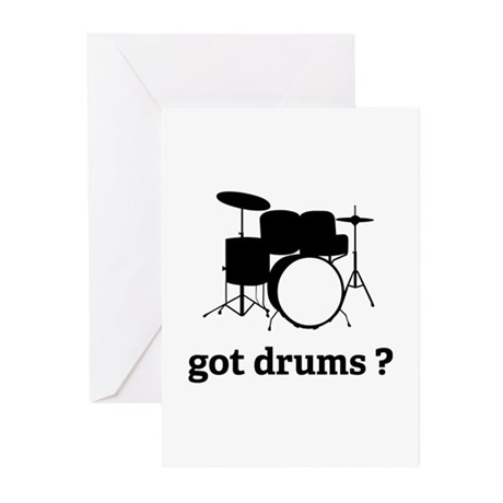got drums ? Greeting Cards (Pk of 20)