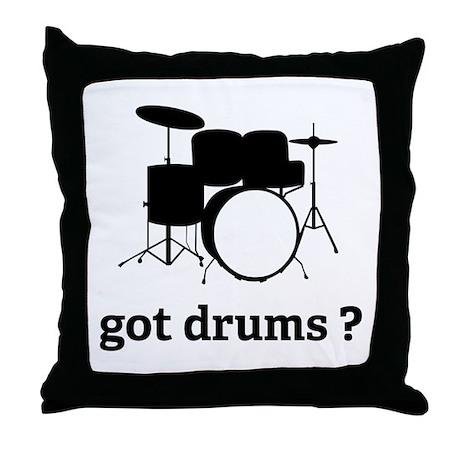 got drums ? Throw Pillow