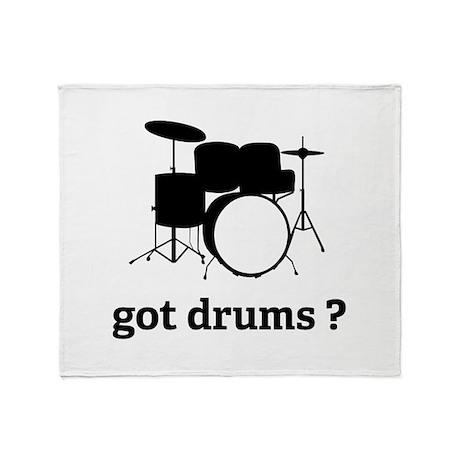 got drums ? Throw Blanket