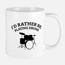 Playing Drums Mug
