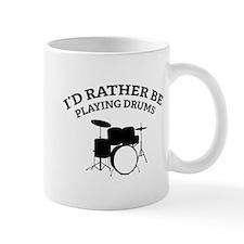 Playing Drums Mug