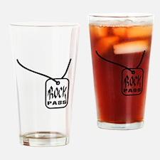 Rock Pass Drinking Glass