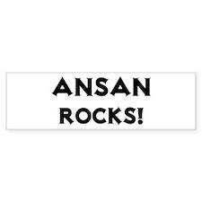 Ansan Rocks! Bumper Bumper Sticker