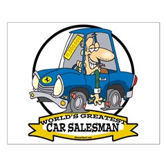 WORLDS GREATEST CAR SALESMAN MEN Posters