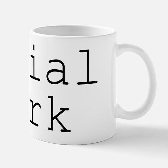 Social Work Hearts Small Mug