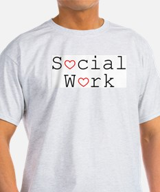 Social Work Hearts T-Shirt