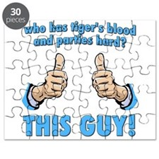 THIS GUY! has tigers blood and parties hard Puzzle
