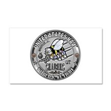 USN Seabees Utilitiesman UT Car Magnet 20 x 12