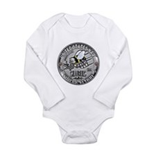 USN Seabees Steelworker SW Long Sleeve Infant Body