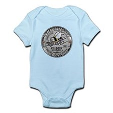 USN Seabees Steelworker SW Infant Bodysuit