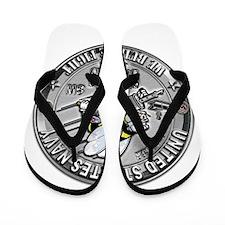USN Seabees Steelworker SW Flip Flops