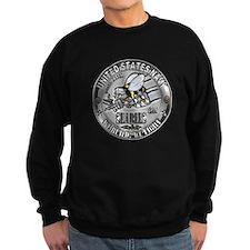 USN Seabees Steelworker SW Sweatshirt