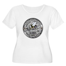 USN Seabees Steelworker SW T-Shirt