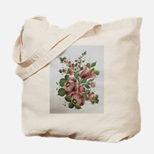 Floral Folk Art Tote Bag