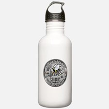 USN Seabees Equipment Operato Water Bottle