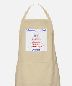 Colombian Food Pyramid Apron