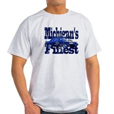 Michigan Highway Patrol Mustang T-Shirt