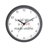 Social work clocks Wall Clocks