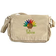 Felicia the Turkey Messenger Bag