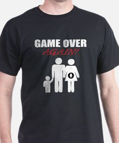 Game Over Again Cool T-shirt